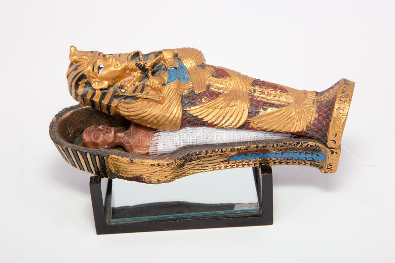 Mummy coffin royalty free stock photo