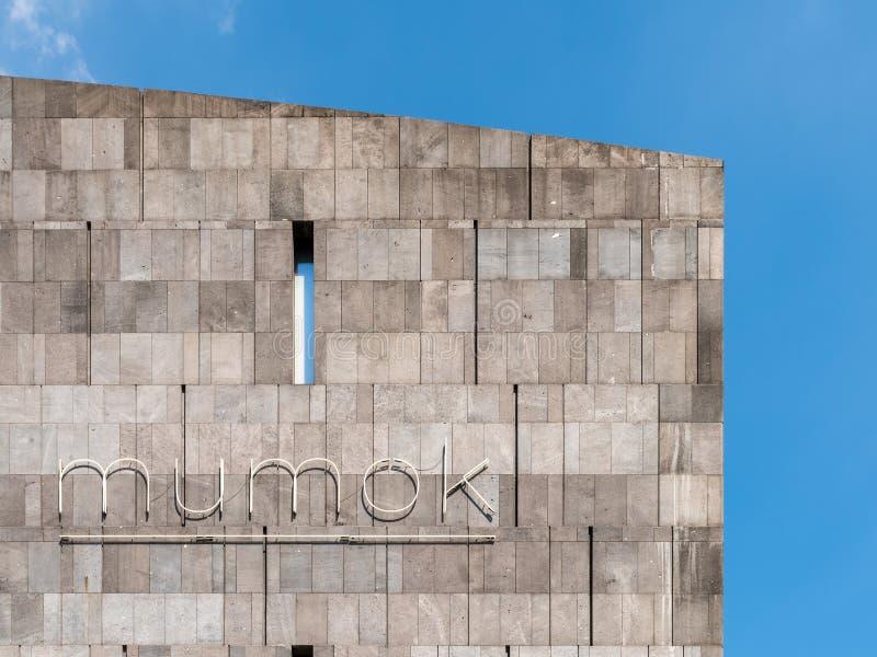 Mumok (Museum Moderner Kunst) Museum of Modern Art In Vienna royalty free stock images