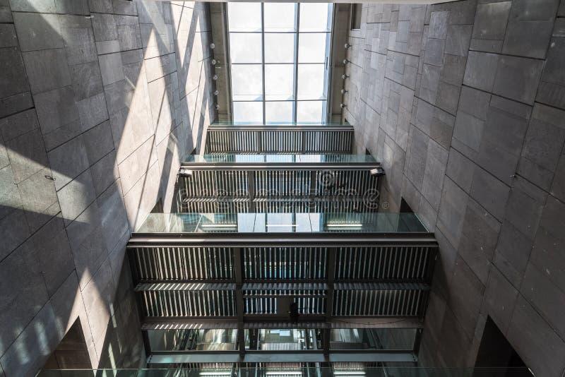 Mumok (Museum Moderner Kunst) Museum of Modern Art In Vienna stock images