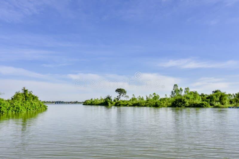 Mun rzeka, Tajlandia obrazy royalty free