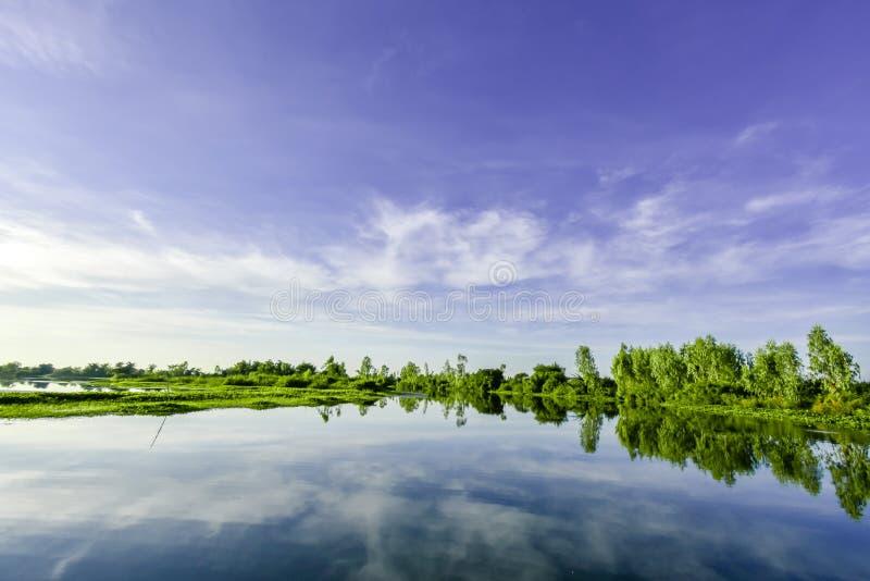 Mun rzeka, Tajlandia zdjęcia stock