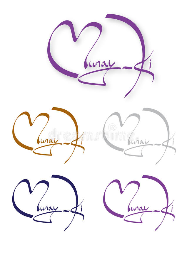 Munay-Ki Logo royalty free stock photo