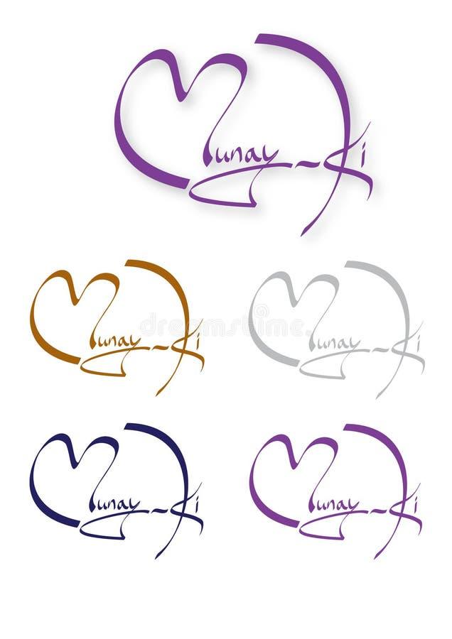Munay-Ki Zeichen stock abbildung