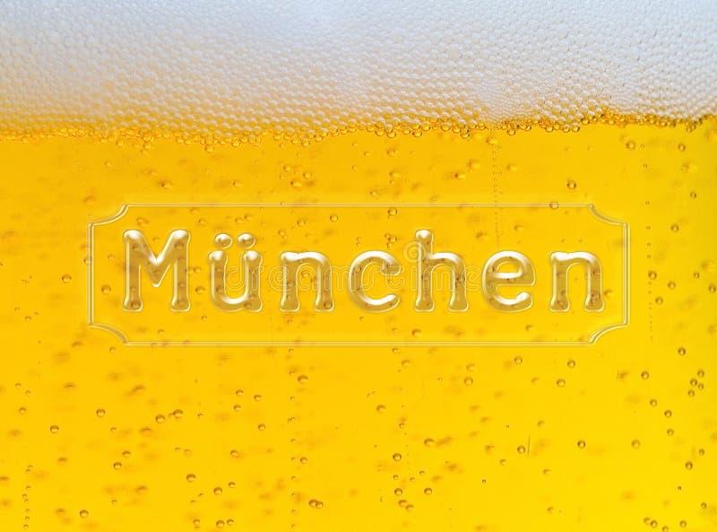 Munchen Oktoberfest piwa tło zdjęcia royalty free