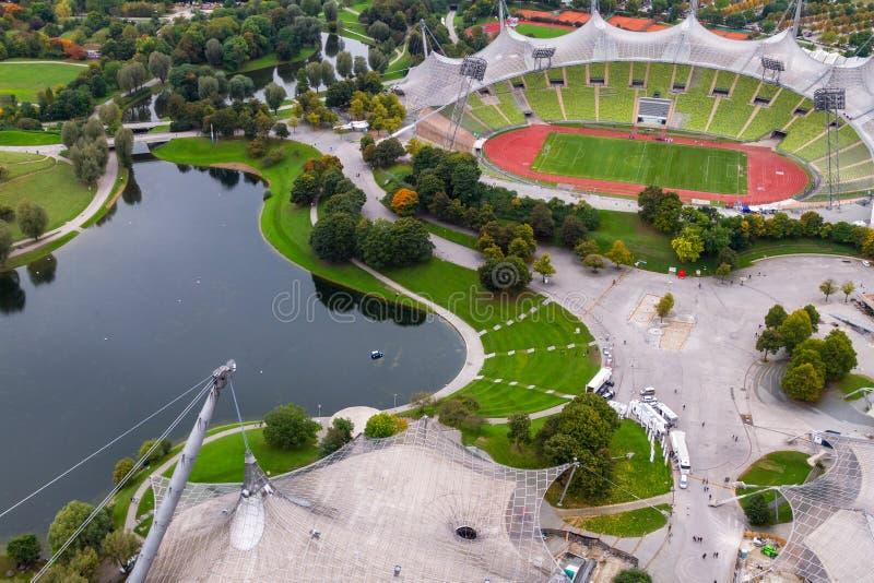 munchen olympiapark zdjęcie stock
