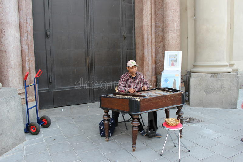 Munchen sommarmusik royaltyfria foton