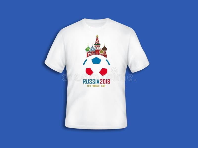 Mundial 2018 imagen de archivo libre de regalías
