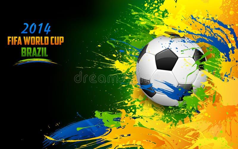Mundial de la FIFA stock de ilustración