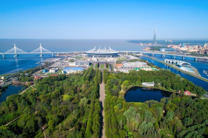 2018 mundial de la FIFA, estadio de Rusia, St Petersburg, St Petersburg foto de archivo