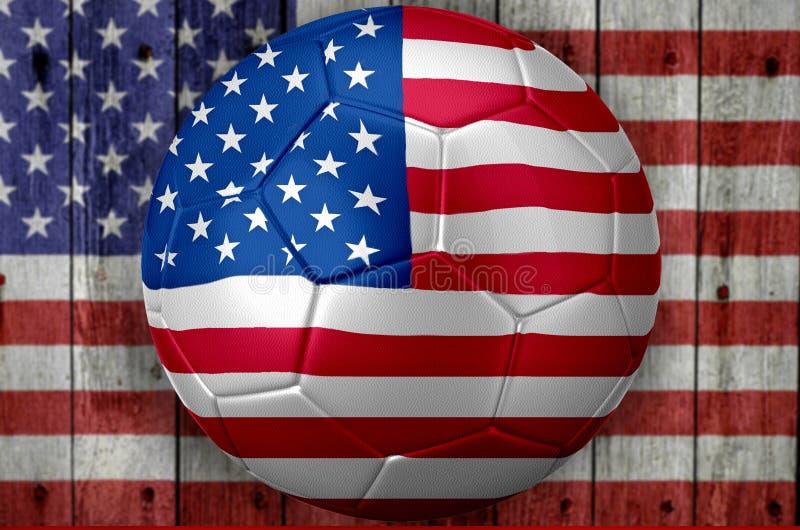 Download Mundial Del Fútbol De Los E.E.U.U. Stock de ilustración - Ilustración de imagen, campeonato: 41910647