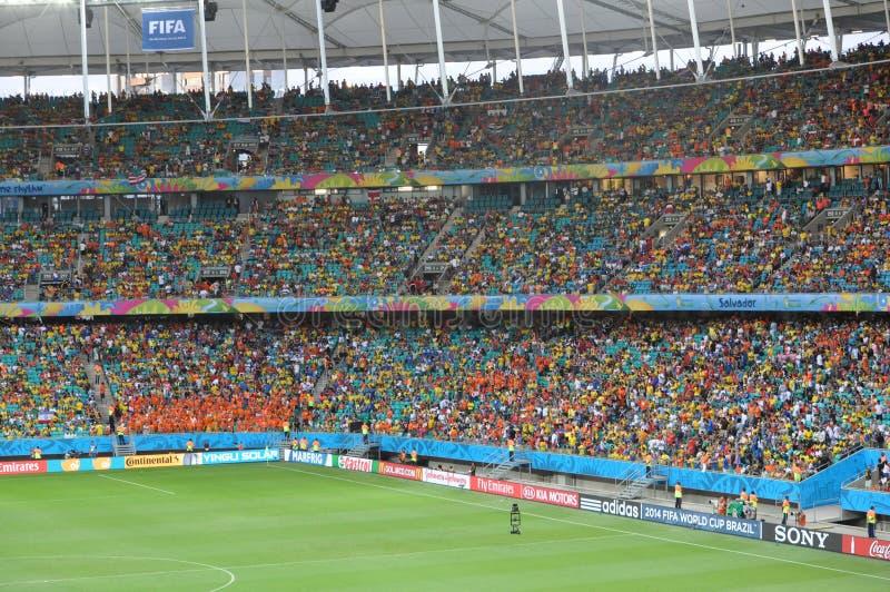 Mundial 2014 del Fifa fotografía de archivo