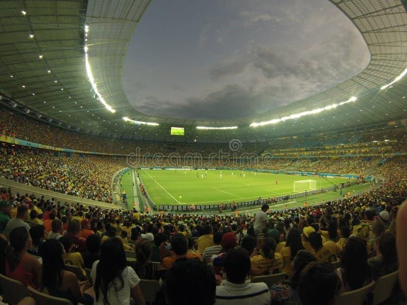 Mundial 2015 del Fifa: Grecia contra Costa de Marfil fotos de archivo