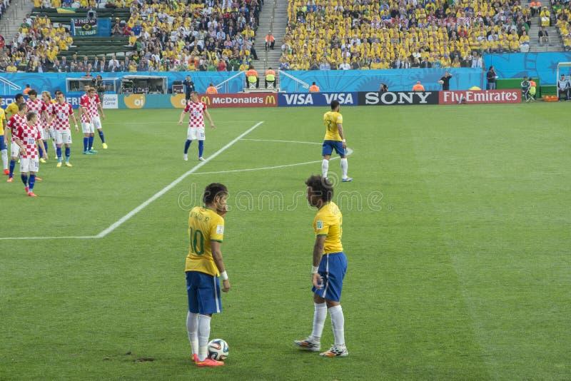 MUNDIAL EL BRASIL 2014 DE LA FIFA imagen de archivo libre de regalías