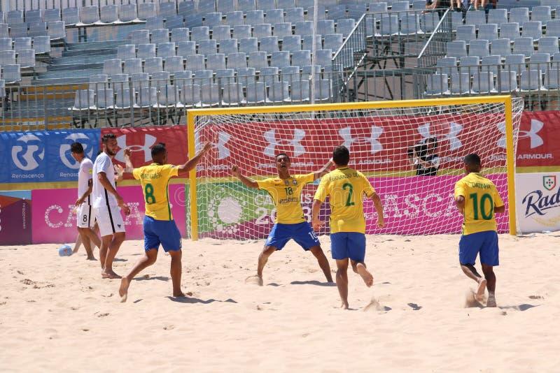 MUNDIALITO - Brasil win stock photography