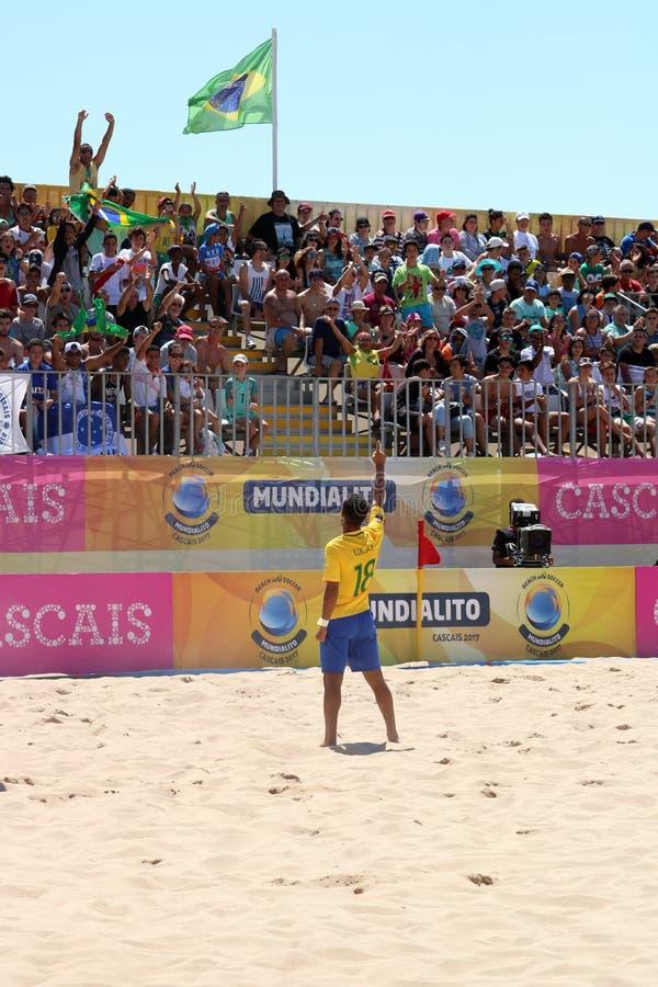 MUNDIALITO - LUCAS CHEER THE FANS stock photos