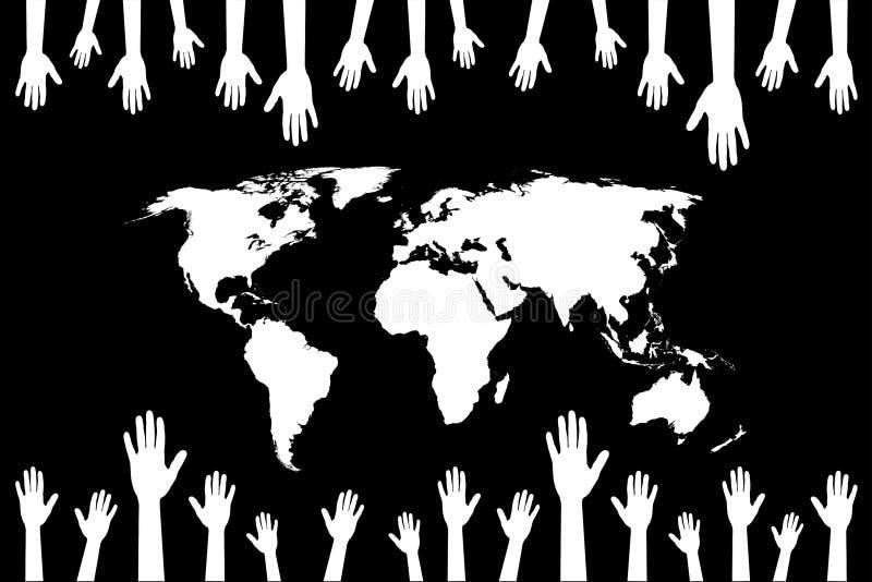 Mundo ilustração royalty free