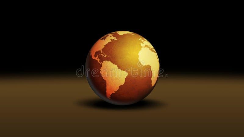 Mundo ilustração stock