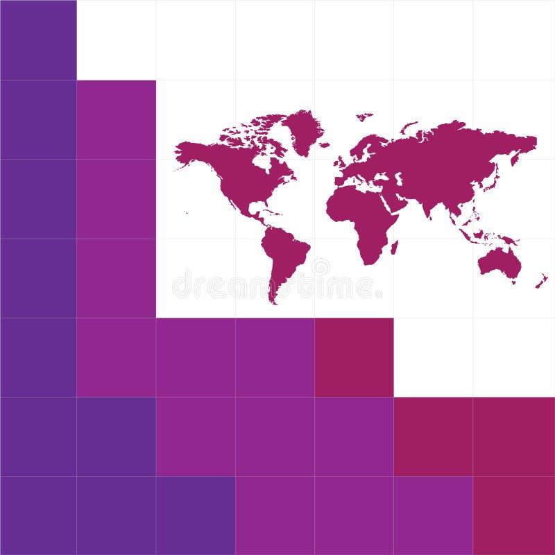 Mundo ilustración del vector