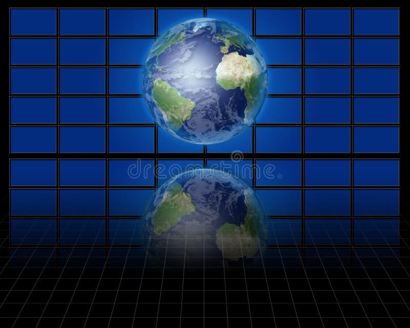 Mundo antes das telas ilustração royalty free