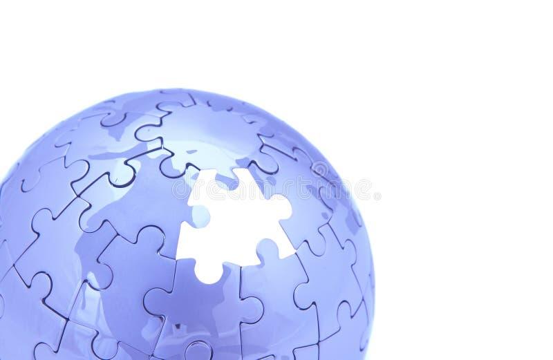 Mundo azul fotos de stock
