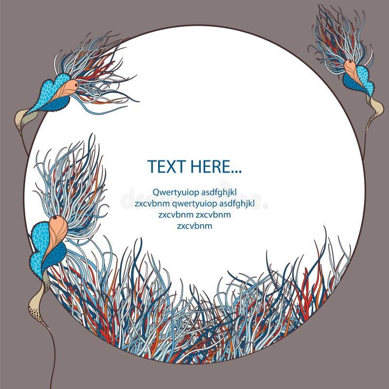 Download Mundo botánico ilustración del vector. Ilustración de saludo - 42446488