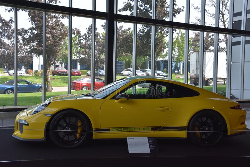Mundo da velocidade EUA em Wilsonville, Oregon foto de stock