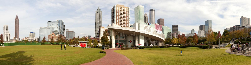 Mundo de Coca-Cola - Atlanta, Geórgia imagem de stock