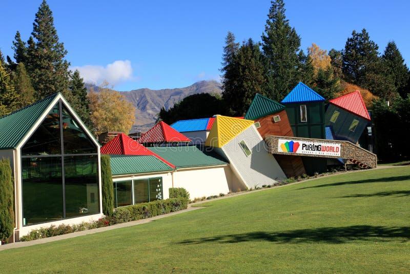Mundo de desconcierto, Nueva Zelanda imágenes de archivo libres de regalías