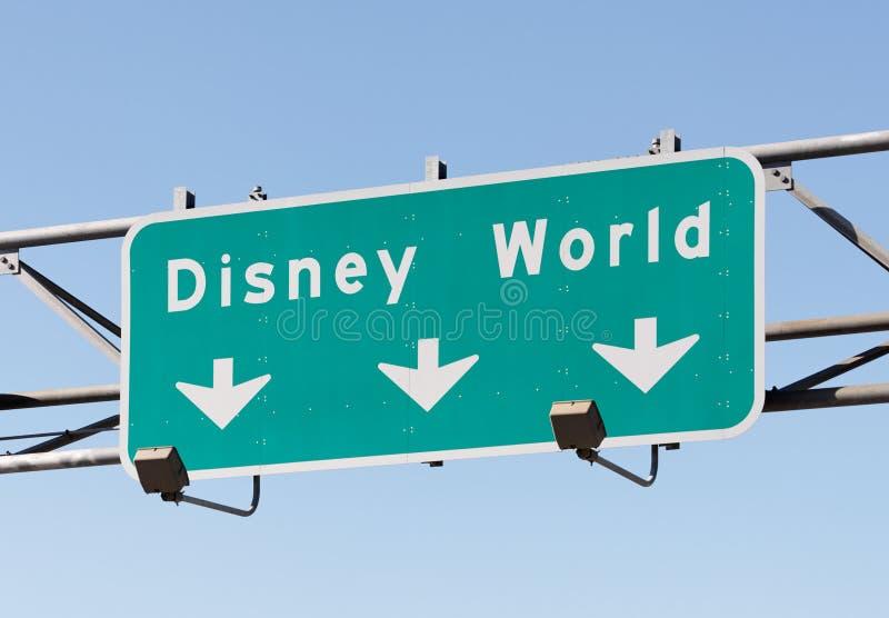 Mundo de Disney foto de archivo libre de regalías