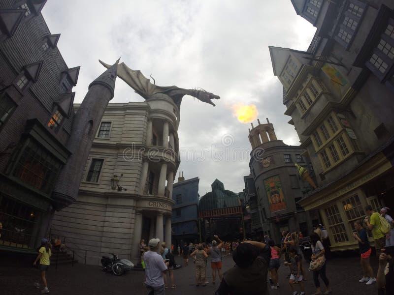 Mundo de Harry Potter imagens de stock