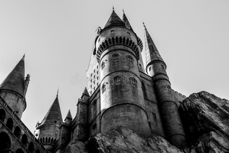 Mundo de Harry Potter fotos de stock