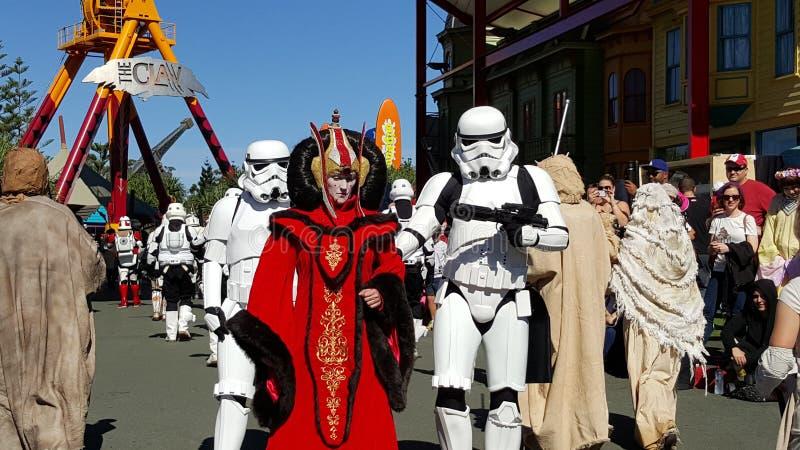 Mundo de la película de Star Wars fotos de archivo
