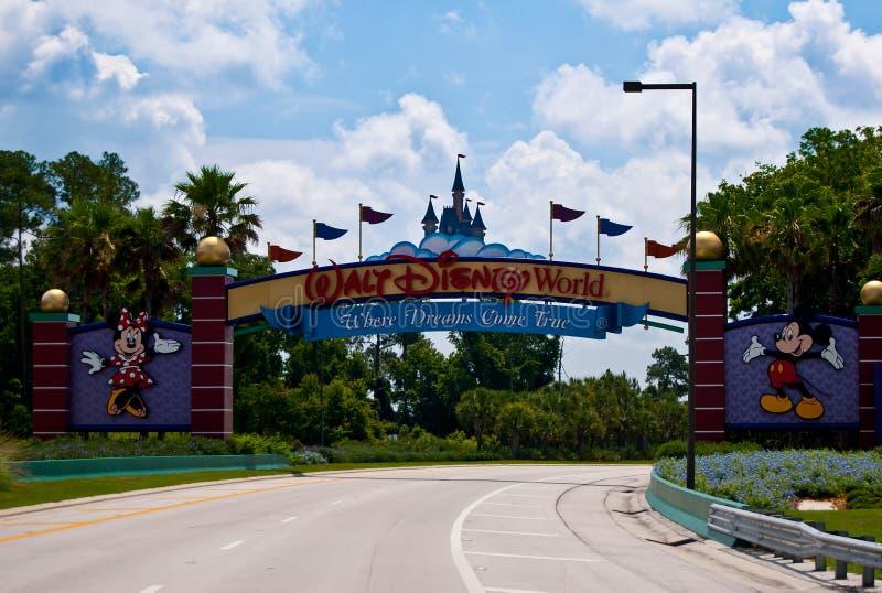 Mundo de Walt Disney imagens de stock royalty free