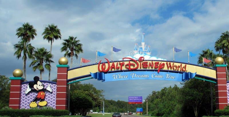 Mundo de Walt Disney fotografía de archivo libre de regalías