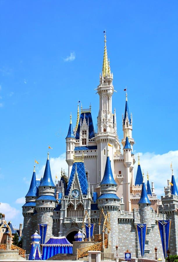 Mundo de Walt Disney del castillo de Disney Cinderella foto de archivo