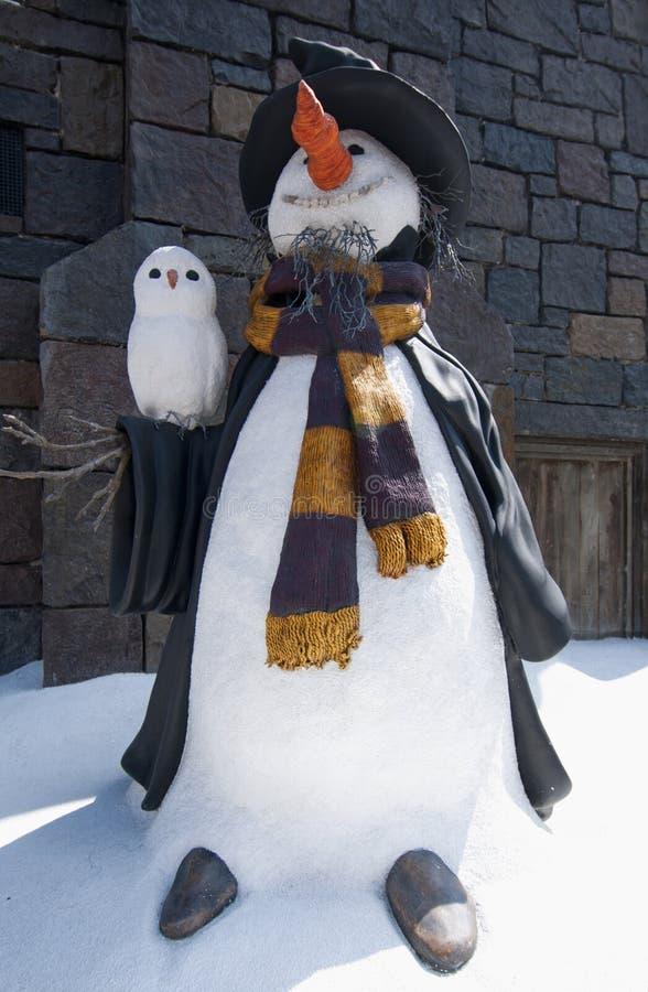 Mundo de Wizarding de Harry Potter imagens de stock