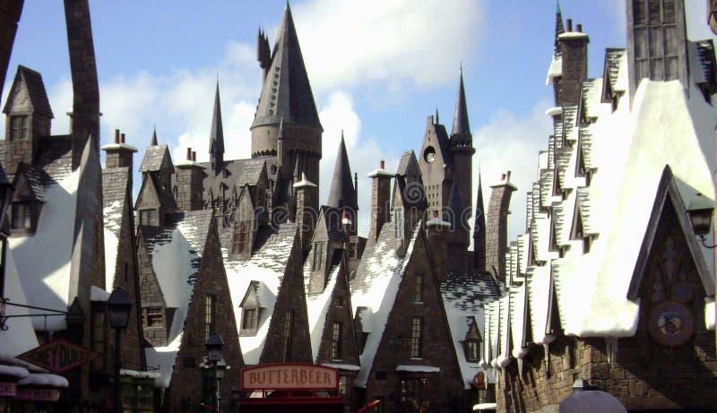 Mundo de Wizarding de Harry Potter imagen de archivo libre de regalías