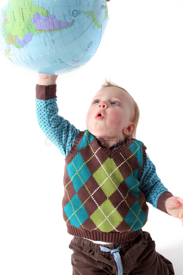 Mundo del bebé imagen de archivo