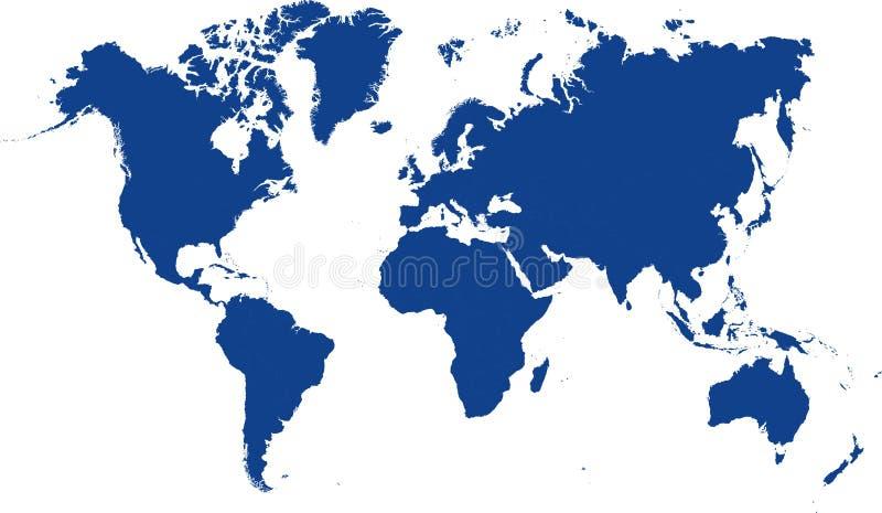 Mundo del mapa fotos de archivo
