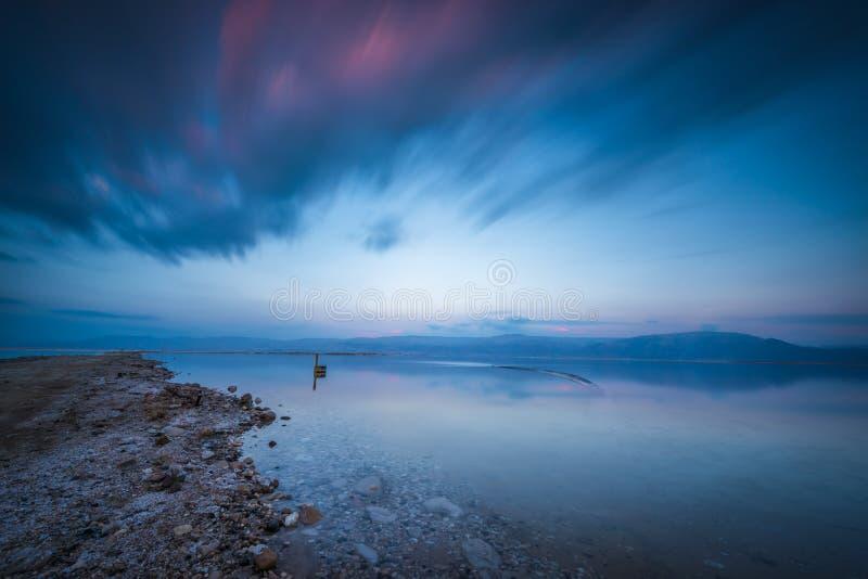 Mundo del mar muerto imagen de archivo libre de regalías