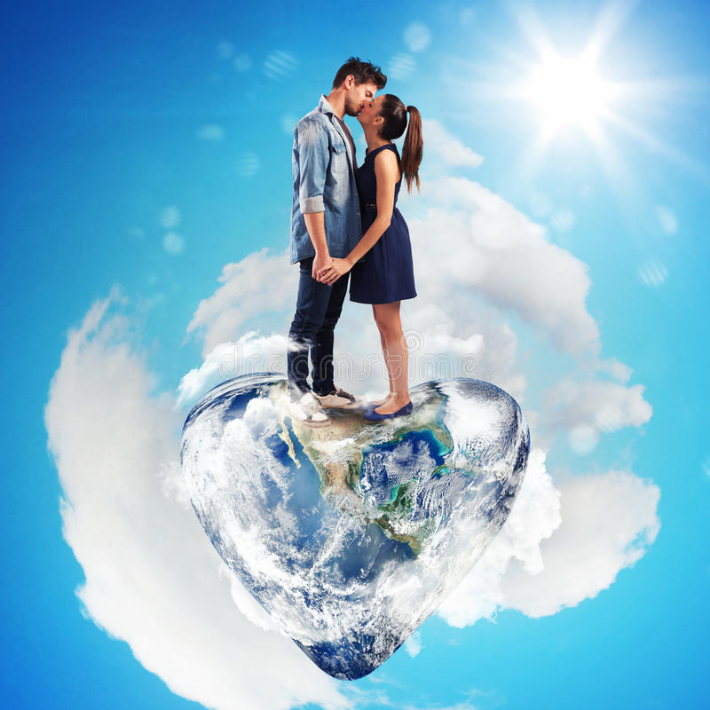 Mundo do amor imagens de stock royalty free