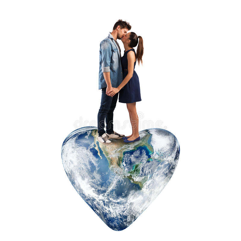 Mundo do amor foto de stock