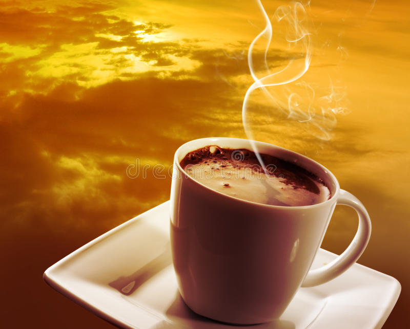 Mundo do café imagem de stock