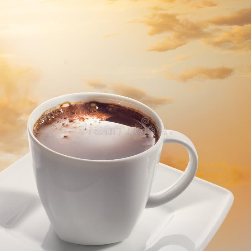Mundo do café foto de stock