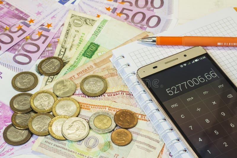 Mundo do dinheiro imagens de stock royalty free