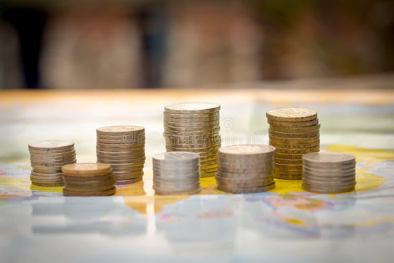 Mundo do dinheiro fotos de stock