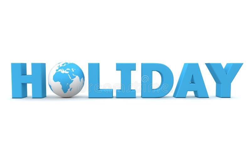 Mundo do feriado ilustração do vetor