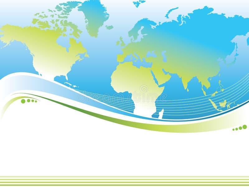 Mundo do fundo ilustração do vetor