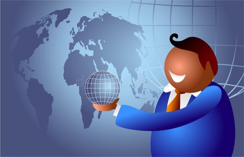 Mundo do negócio ilustração do vetor