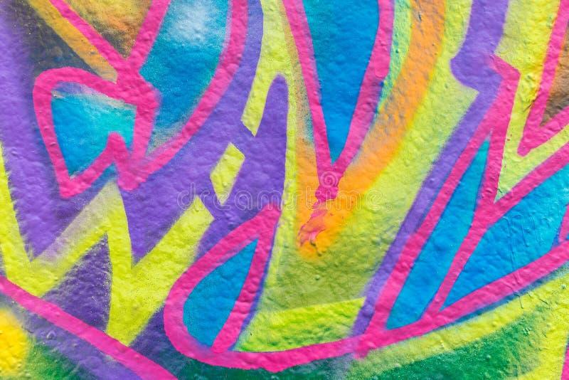 Mundo dos grafittis ilustração stock